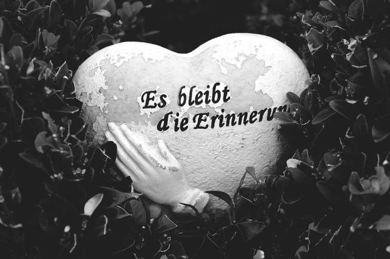 Erinnerung, Herz, Trauer,