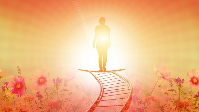 Trauermotiv - Der Weg ins Licht